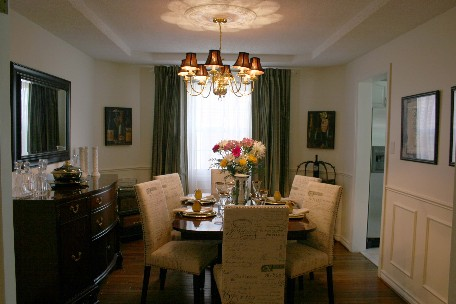 ORGANIZER FOR YOUR HOME STAGER AND DECORATOR DINING ROOM
